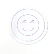 Gypsy Life Surf Shop - Smiley Sticker - Assorted