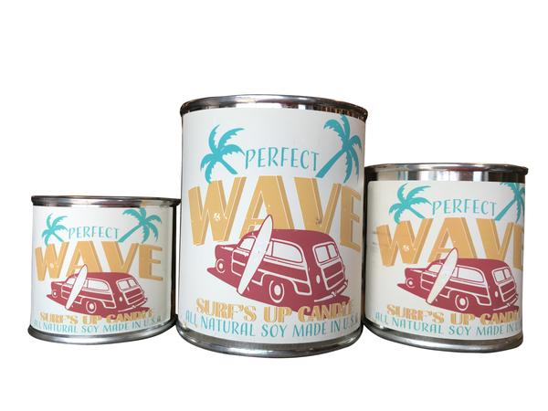 Perfect Wave Paint Can Candle