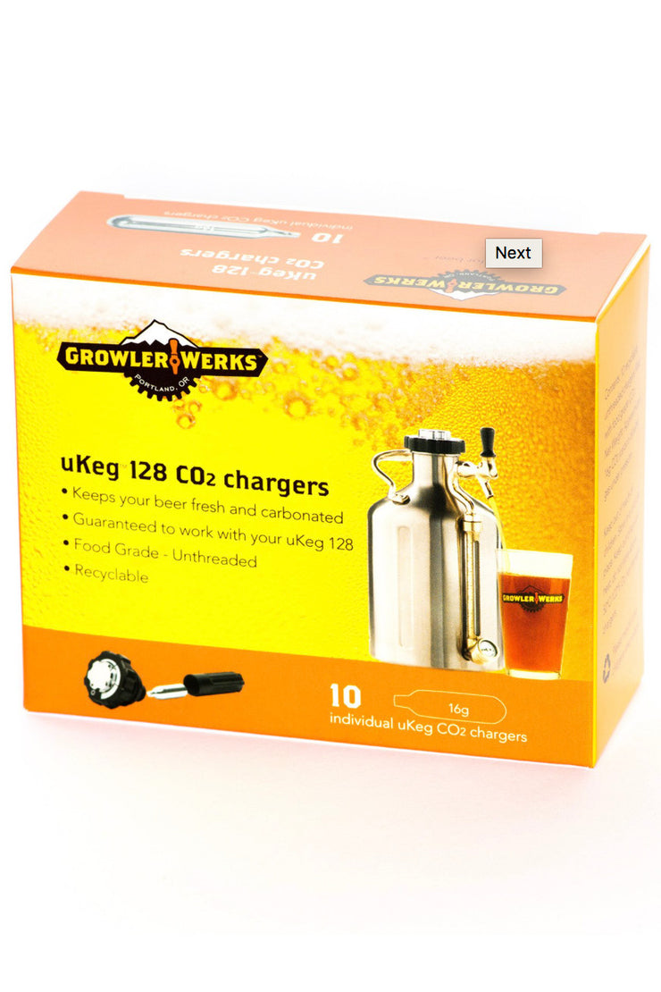16 Gram CO2 - Package of 10