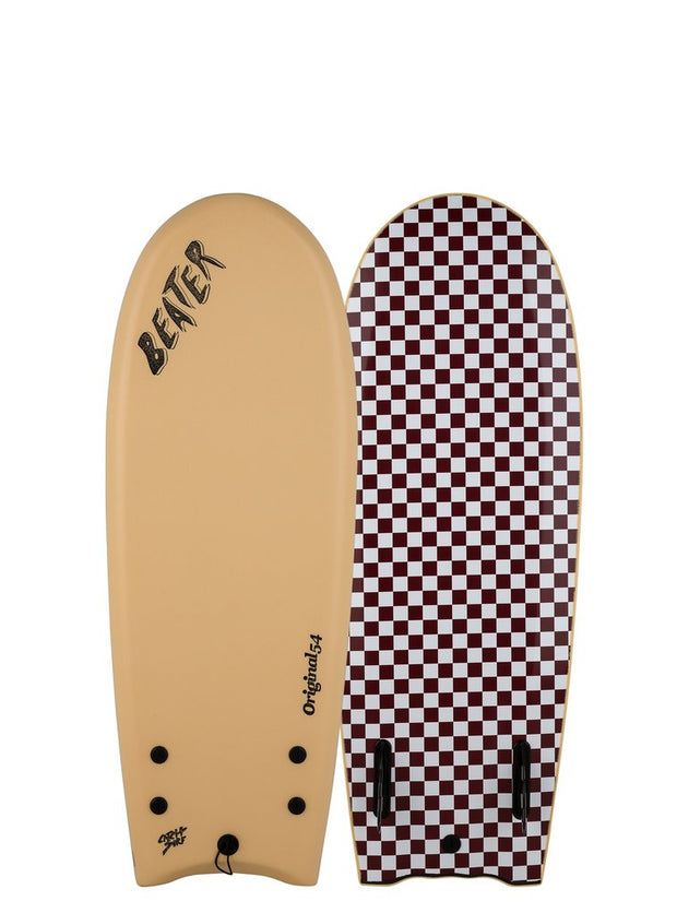 Beater Original 54 - Twin Fin - Vanilla Checker