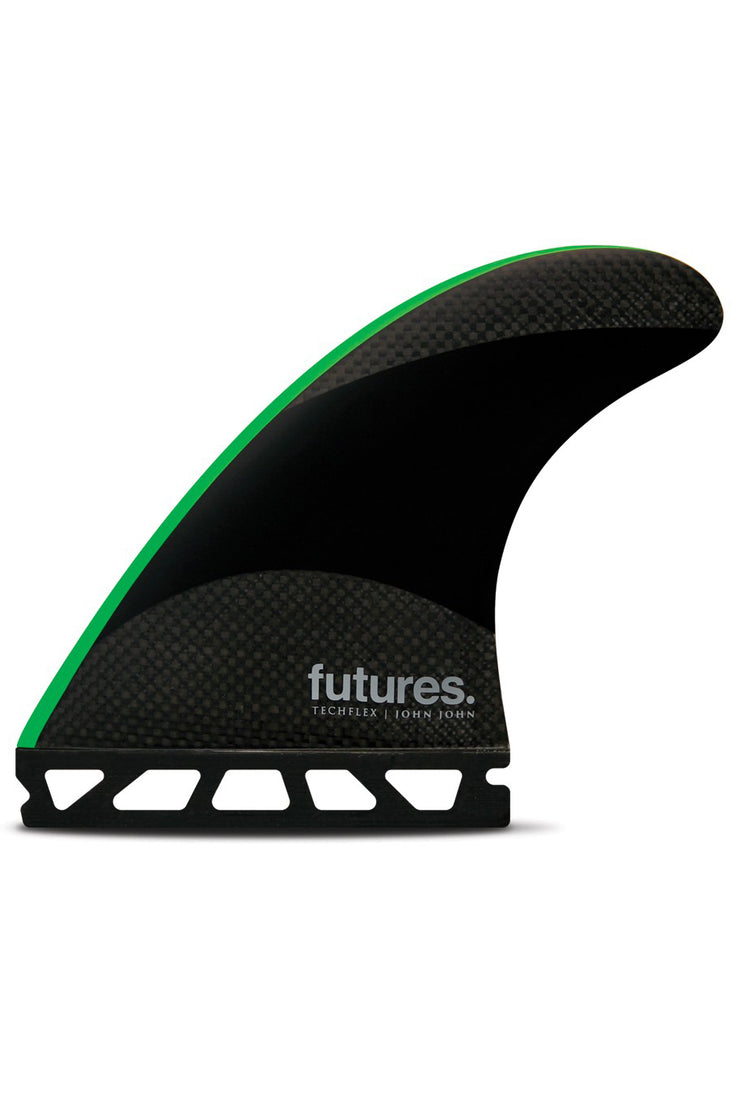 John John (M) Thruster Futures - Black/Neon Green Techflex   4