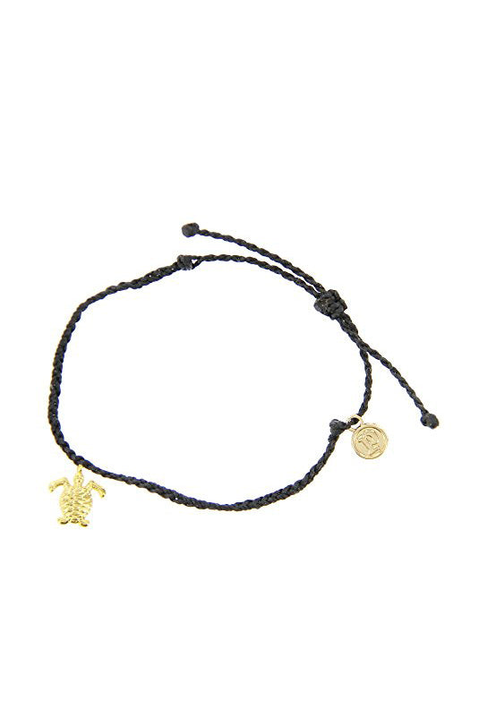 Bitty Turtle Gold Bracelet