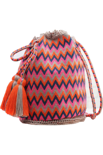Guerita Ethnic Handmade Colombian Wayuu Backpack