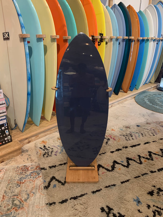 Exile Skimboard - Small EX1- Coal with Black Stripe