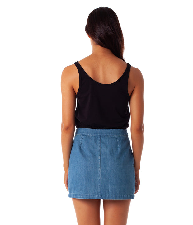 Chelsea Skirt - Denim
