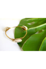 Cowrie Beach Bangle