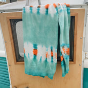 Gypsy Life Surf Shop Tie Dye Sweater - Shibori Stripe