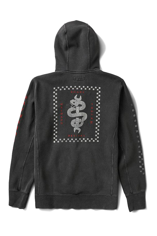 Wrenched Pullover Hoodie - Black
