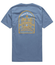 Castle in the Skye Tee - Slate Blue