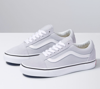 UA Old Skool - Grey Dawn/True White