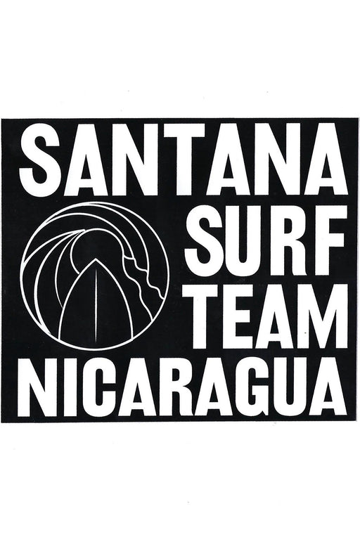 Santana Surf Team Sticker