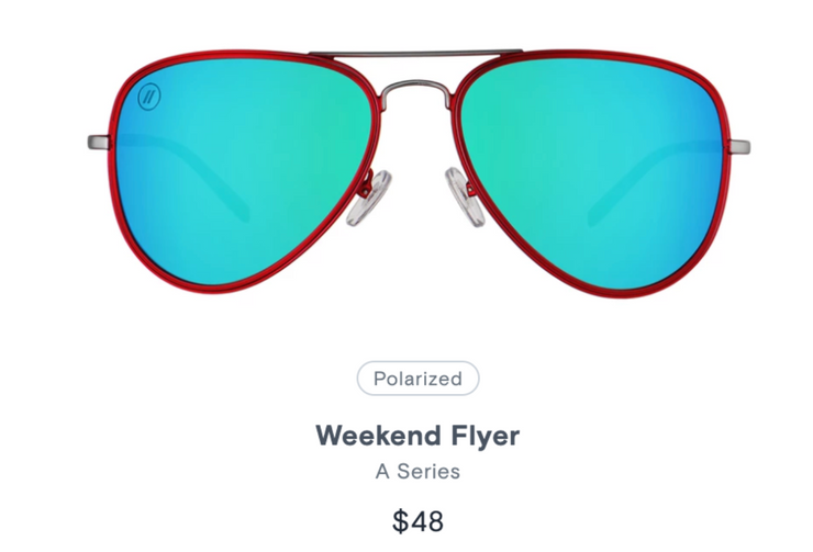 Weekend Flyer - A Series - Polarized