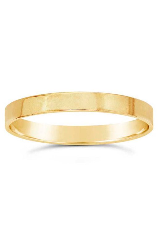 Gypsy Life Flat Wire Stacking Ring - Yellow Gold-Filled