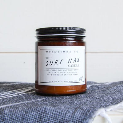 Surf Wax Candle