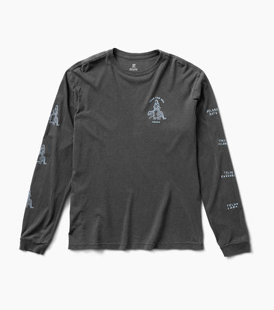 South Sea Queen LS Tee - Black