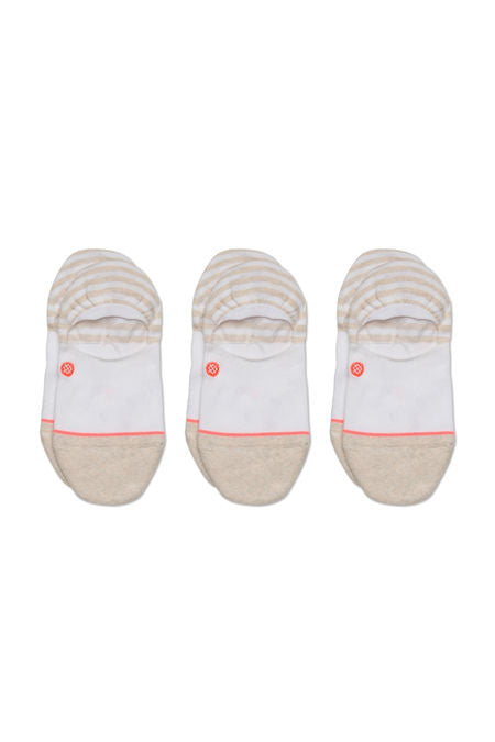 Women's - Invisible 3 Pack - White