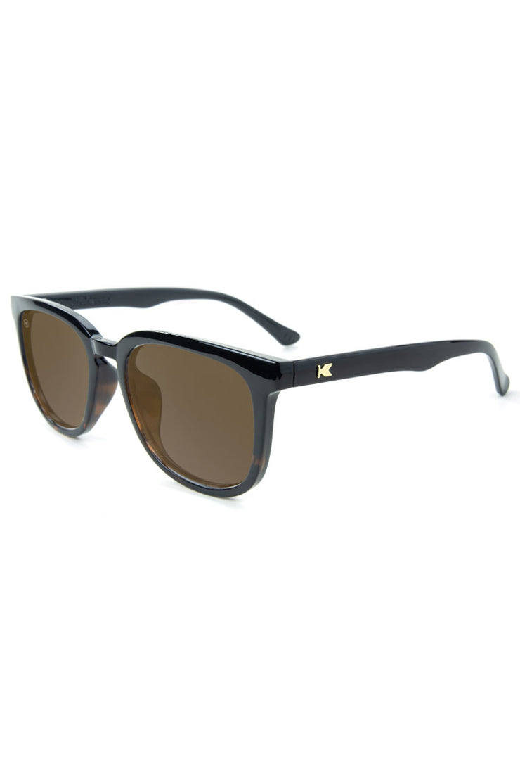 Glossy Black and Tortoise Shell Fade - Amber - Paso Robles  - Polarized