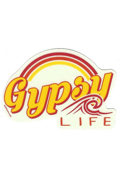 Gypsy Life Surf Shop Sticker - Hofferson Wave