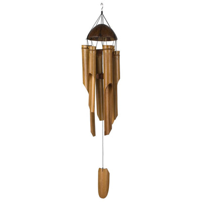 Half Coconut Bamboo Chime - Large