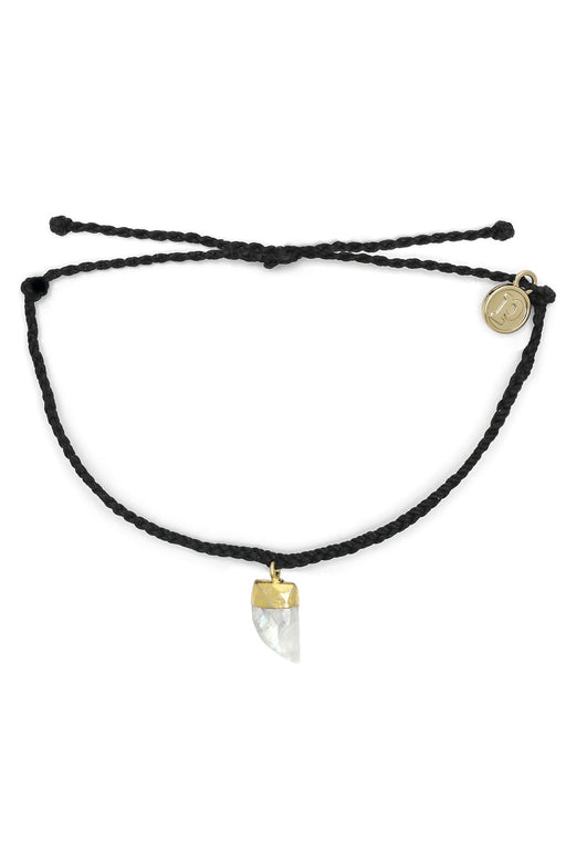 Stone Shark Tooth Bracelet Gold