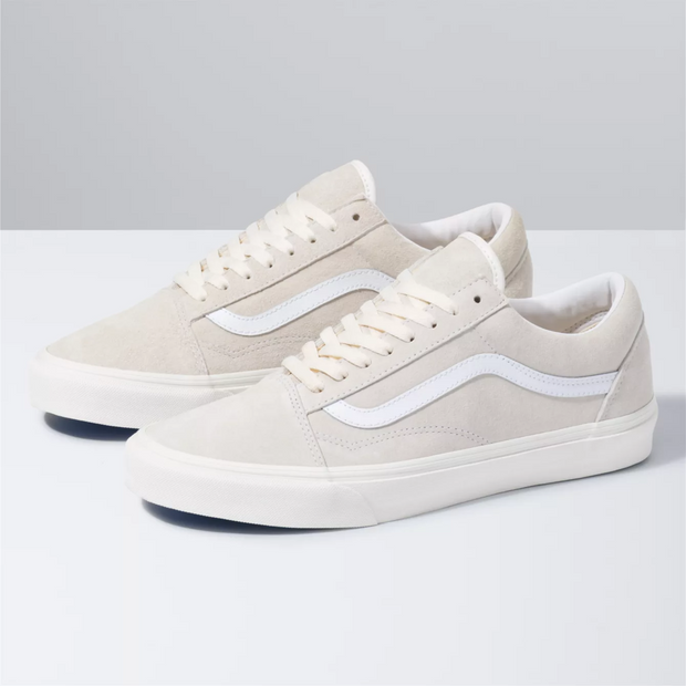 UA Old Skool - Pig Suede - Marshmallow/True White