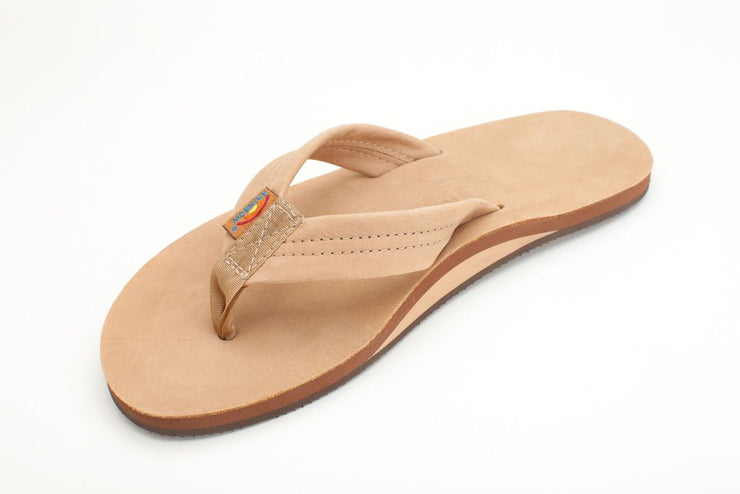 Women's Double Layer Premier Leather with Arch Support - Sierra Brown