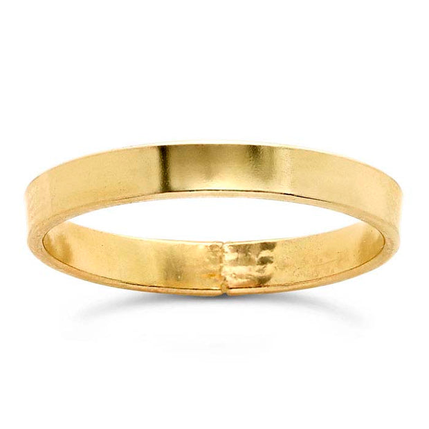 Gypsy Life 14k Yellow Gold-Filled Flat Wire Stackable Ring
