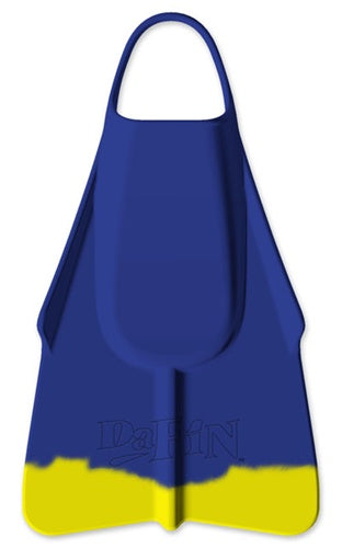DaFin Navy And Yellow Swim Fins