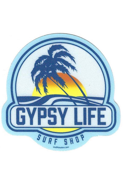 Gypsy Life Surf Shop Sticker - Reinforced Palms