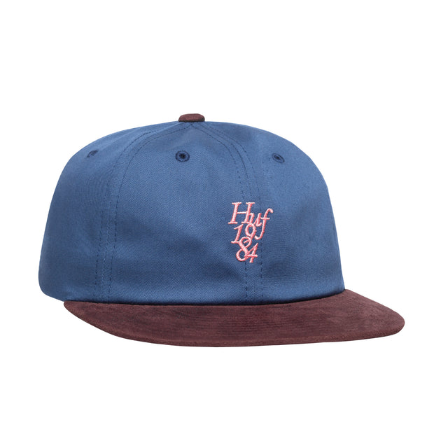 1984 Contrast 6 Panel Hat - Insignia Blue