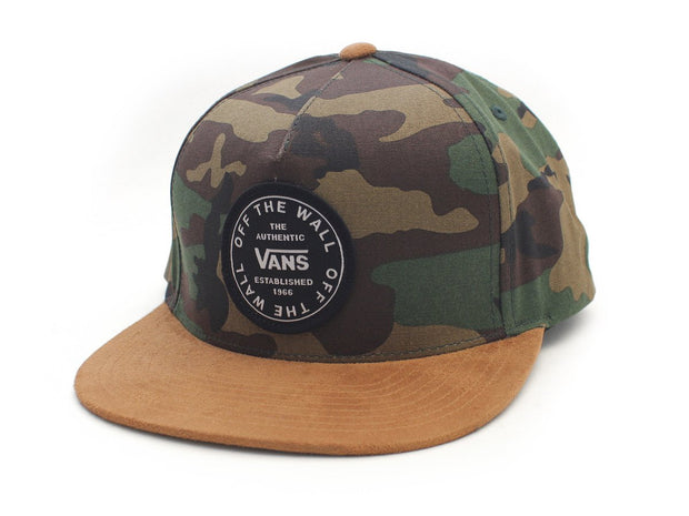 Old Skool Circle Classsic Hat - Camo