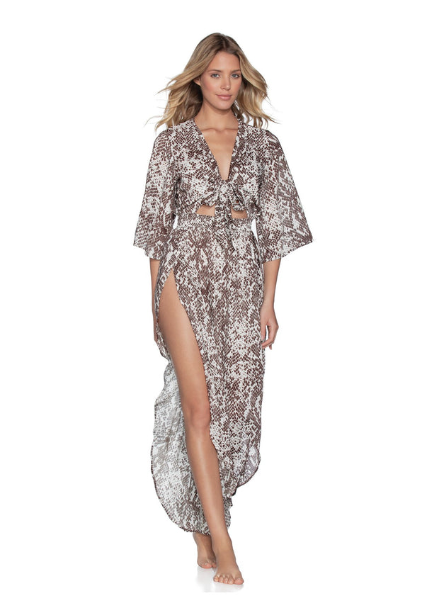 Rise and Shine Jumpsuit Beach Cover Up