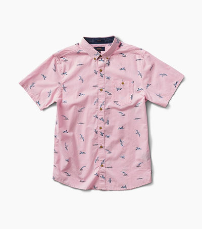 Shearwater Twilight Button Up - Pink