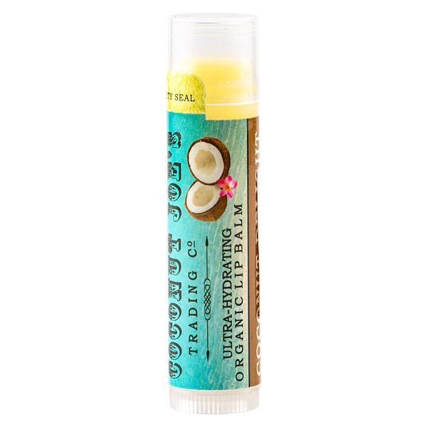 Organic Coconut Oil Lip Balm - Coconut Delight