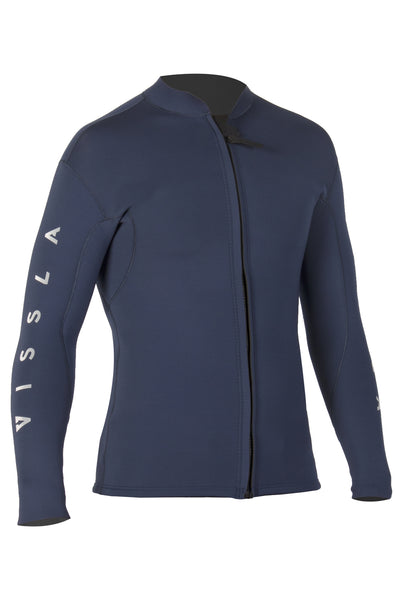 2mm Tripper Front Zip Jacket - Midnight