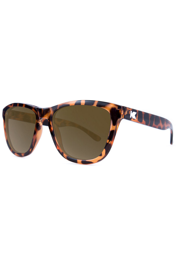 Glossy Tortoise Shell - Amber - Premiums  - Polarized