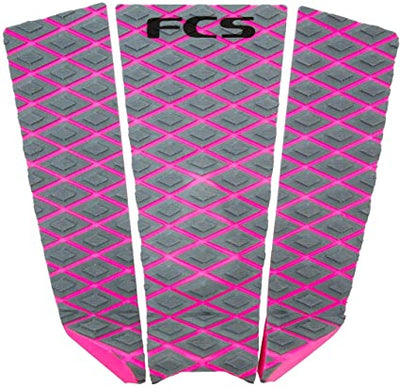 FCS Fitzgibbons Traction Pad - Grey/Bright Pink