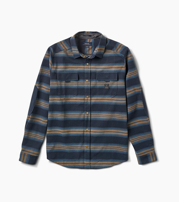 Diablo Long Sleeve Flannel - Blue