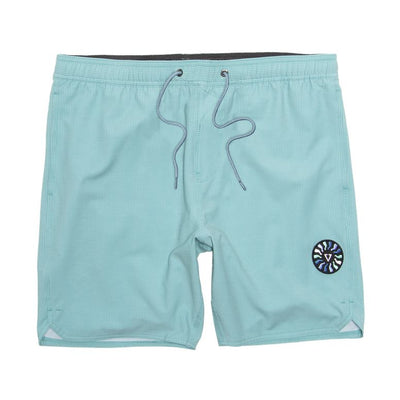 "Solid Sets Printed 17.5"" Ecolastic Boardshorts - Jade"