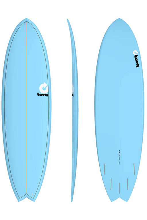 "6'3"" Fish Pinline Blue"