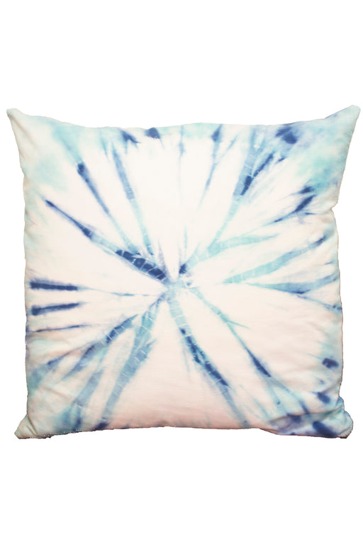 "28"" Tie Dye Cotton Suede Floor Cushion"