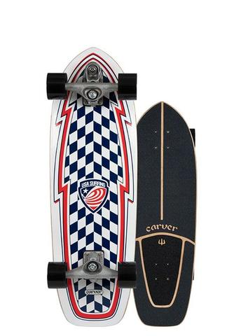 "30.75"" USA Booster Surfskate - C7 Raw"