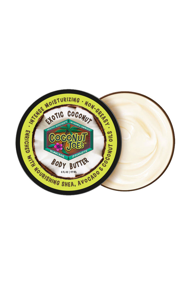 Exotic Coconut Body Butter - 6 oz.