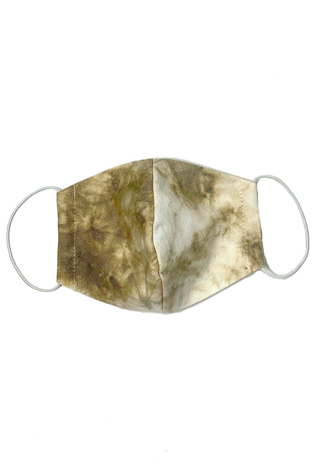 Women's Curved Tie Dye Face Mask