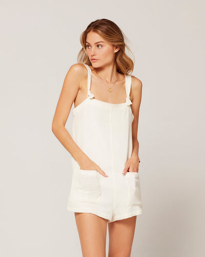 Stephie Romper - Cream