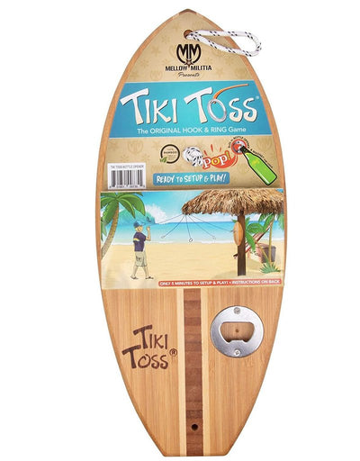 Tiki Toss Surfboard Bottle Opener