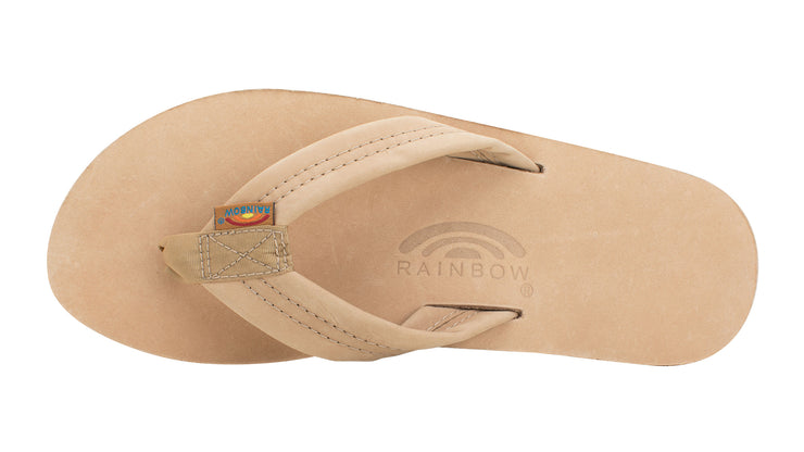 Men's Double Layer Premier Leather with Arch Support - Sierra Brown