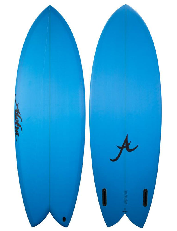5'6 Keel Twin PU Blue - Futures