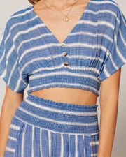 Jada Top - Poolside Stripe