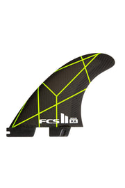 FCS II Kolohe Andino PC Grey/Yellow Tri Retail Fins